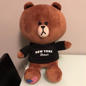 Other - Line Friends large Brown Bear NWT 🐻❤️